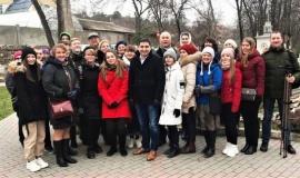 Молодые журналисты со всего Крыма стали гостями Бахчисарайского парка миниатюр
