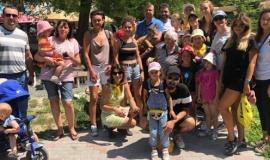 Молодежь – представители караимского народа – посетили Бахчисарайский парк миниатюр