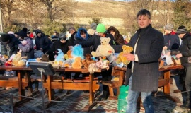 Руководство Бахчисарайского интерната выразило благодарность Виктору Жиленко за помощь и постоянную поддержку