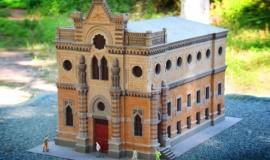 Караимы Крыма попросили изменить внешний вид копии Симферопольской кенассы в Бахчисарайском парке миниатюр