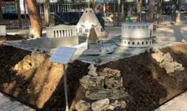 А мы продолжаем реконструкцию Парка «Крым в миниатюре» в Алуште