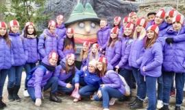 Одаренные дети и подростки со всей России посетили Бахчисарайский Парк миниатюр