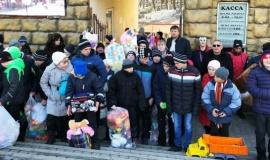 Дед Мороз специально задержался в Крыму, чтобы поздравить ребят из Бахчисарайского интерната